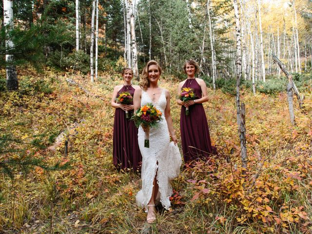 Aaron and Lisa's wedding in Canmore, Alberta 27