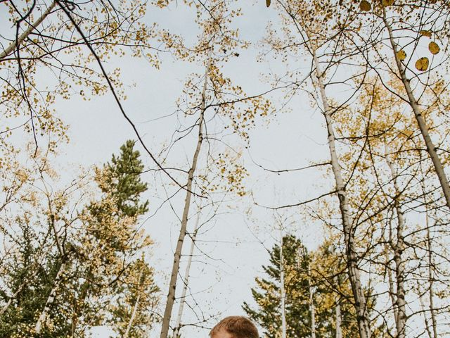 Aaron and Lisa's wedding in Canmore, Alberta 30