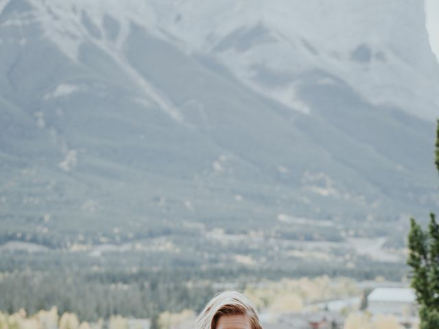 Aaron and Lisa's wedding in Canmore, Alberta 37