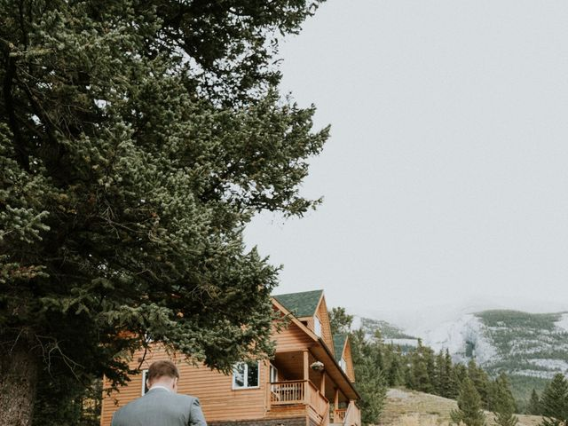 Aaron and Lisa's wedding in Canmore, Alberta 39