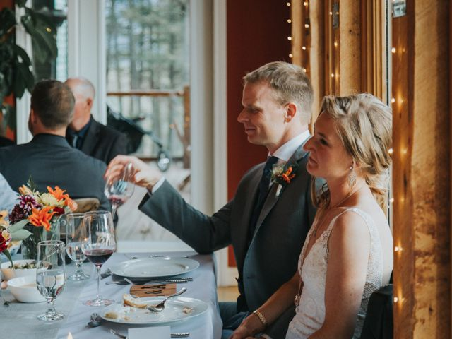 Aaron and Lisa's wedding in Canmore, Alberta 42