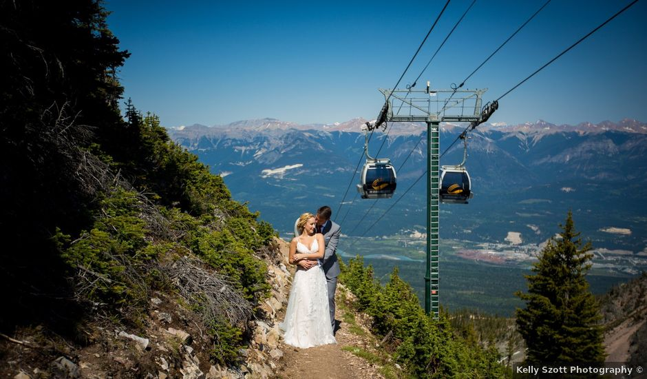Cory and Michelle's wedding in Golden, British Columbia