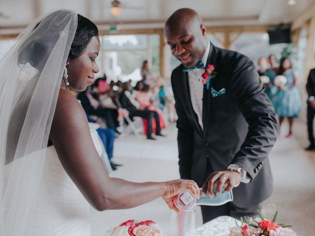 The wedding of Elizabeth and Yvan