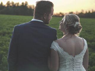 The wedding of Luke and Jessica