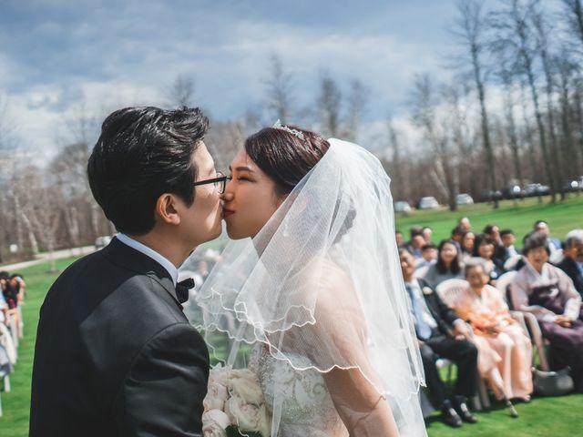 Jaeho and Yunyeong's wedding in East Gwillimbury, Ontario 3