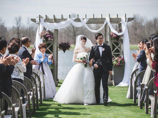 Jaeho and Yunyeong's wedding in East Gwillimbury, Ontario 4