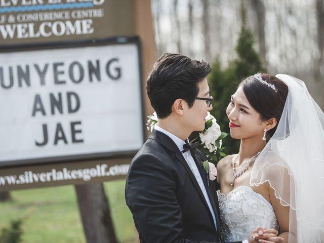 The wedding of Yunyeong and Jaeho