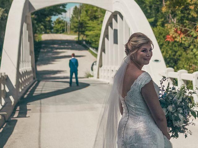 Jessica and Luke's wedding in Elora, Ontario 1
