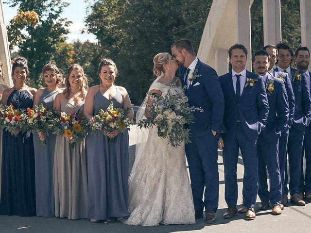 Jessica and Luke's wedding in Elora, Ontario 9