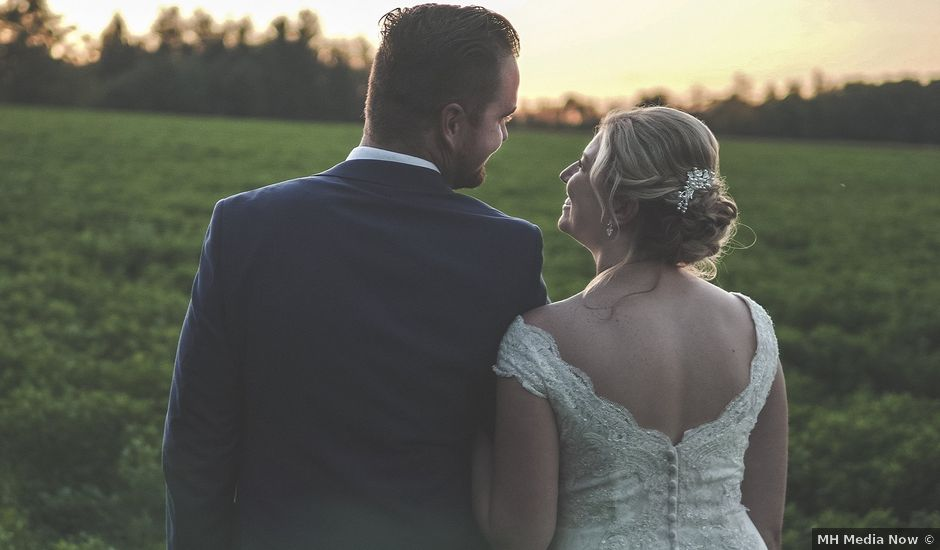 Jessica and Luke's wedding in Elora, Ontario