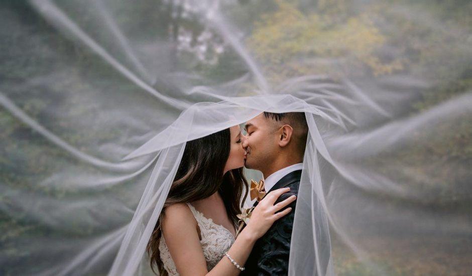 Peter and Kelsie's wedding in Edmonton, Alberta