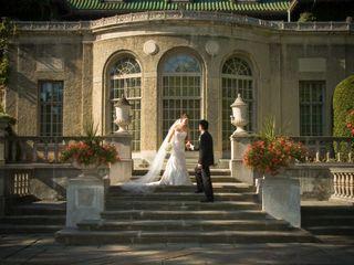 The wedding of Helen and Lloyd