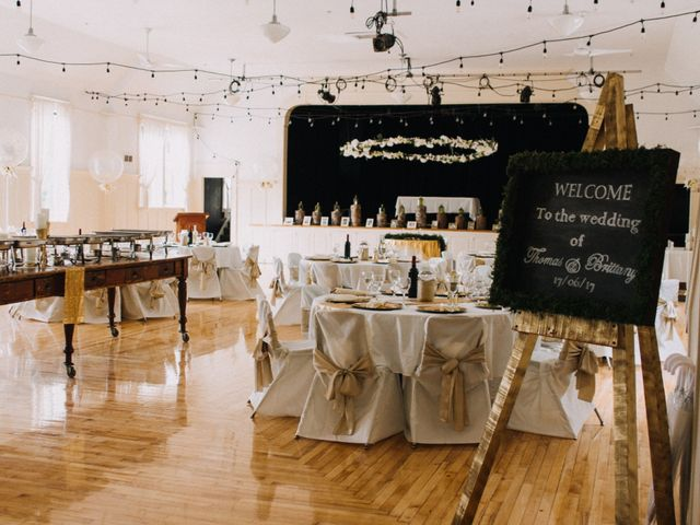 Tom and Brittany's wedding in Fort Langley, British Columbia 3