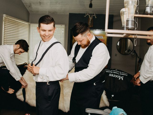 Tom and Brittany's wedding in Fort Langley, British Columbia 8