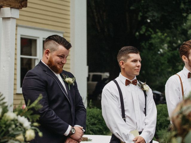 Tom and Brittany's wedding in Fort Langley, British Columbia 11