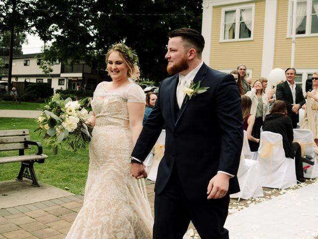 Tom and Brittany's wedding in Fort Langley, British Columbia 13