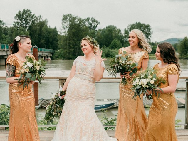 Tom and Brittany's wedding in Fort Langley, British Columbia 15