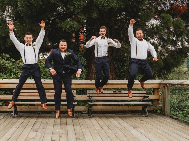 Tom and Brittany's wedding in Fort Langley, British Columbia 16