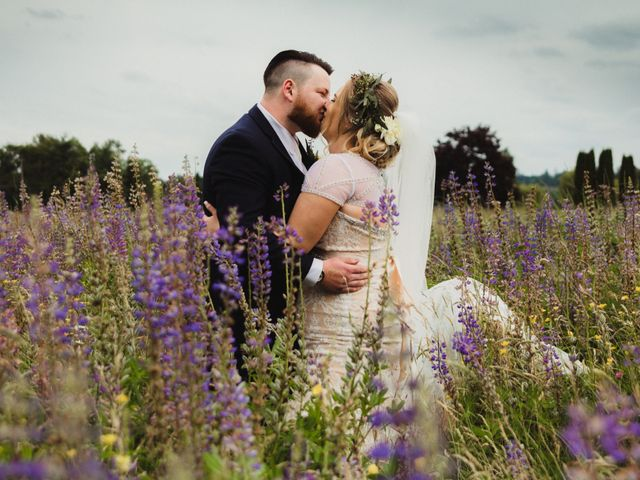 Tom and Brittany's wedding in Fort Langley, British Columbia 17