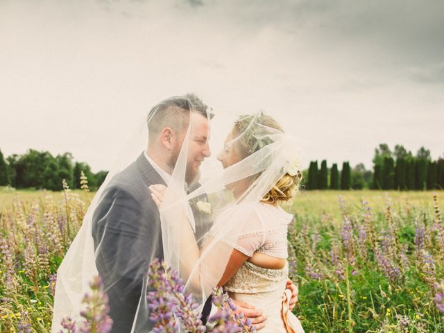 Tom and Brittany's wedding in Fort Langley, British Columbia 18