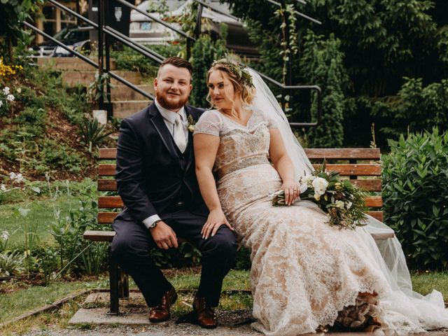 Tom and Brittany's wedding in Fort Langley, British Columbia 21