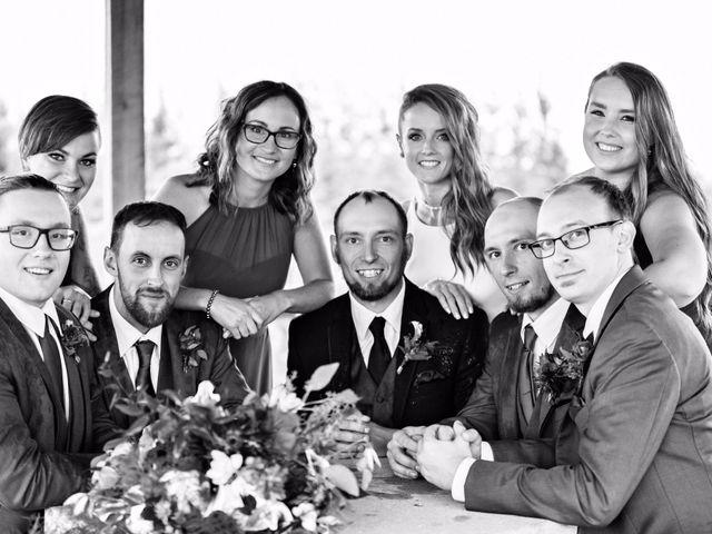 Travis and Jessica's wedding in Regina, Saskatchewan 2