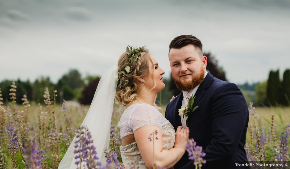 Tom and Brittany's wedding in Fort Langley, British Columbia