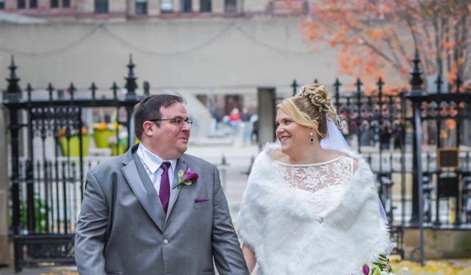 Tim and Megan's wedding in Toronto, Ontario
