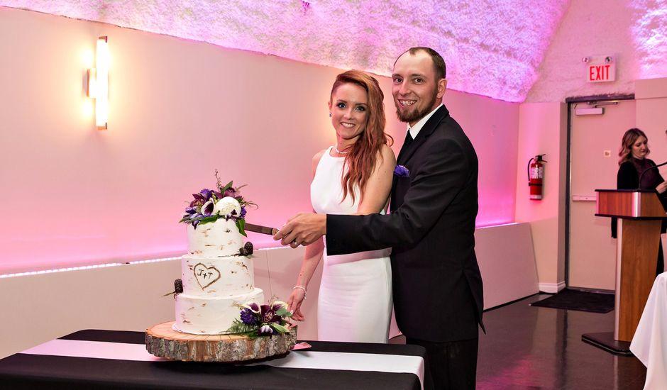 Travis and Jessica's wedding in Regina, Saskatchewan