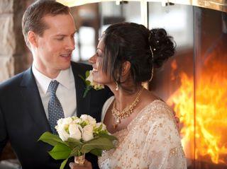 The wedding of Sharmila and Brad