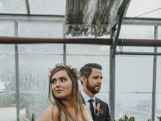 The wedding of Paige and Simon