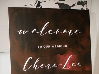 The wedding of Chere and Steve 2