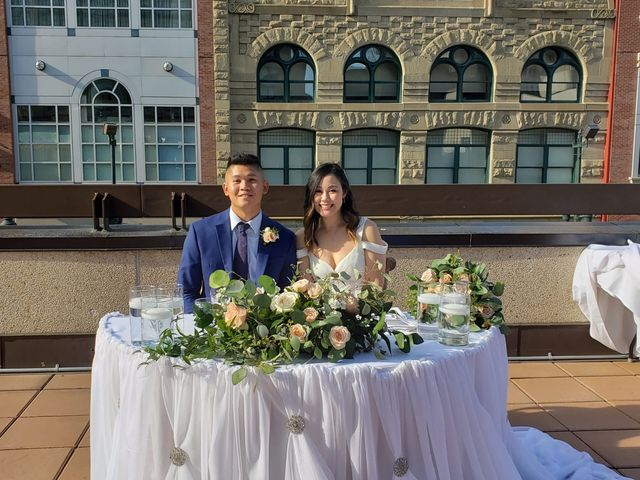 The wedding of Amanda and Richard