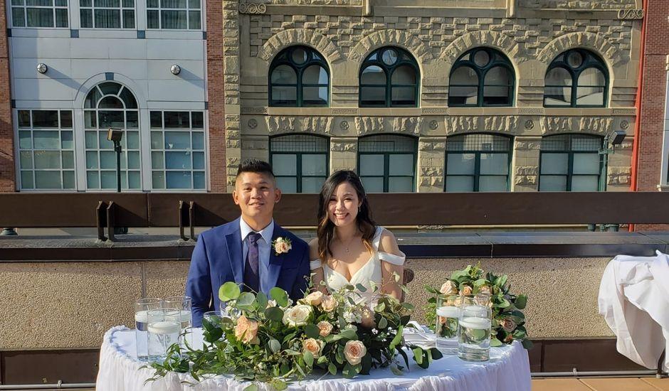 Richard and Amanda's wedding in Calgary, Alberta