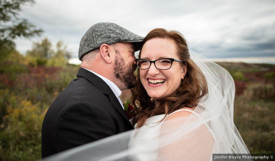 Steve and Chere's wedding in Hamilton, Ontario