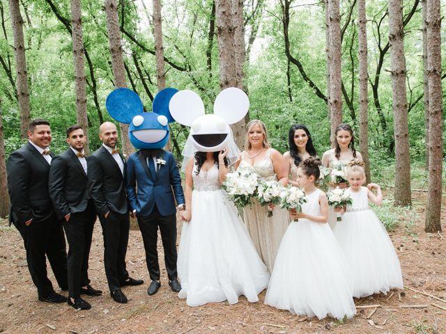 The wedding of Stephanie and Jessy