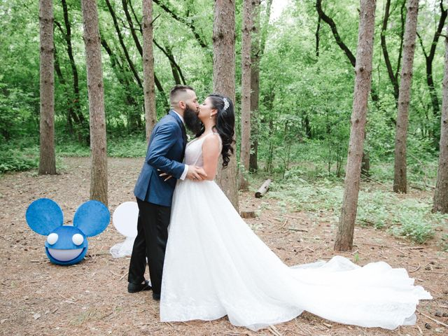 Jessy and Stephanie's wedding in Vaughan, Ontario 1