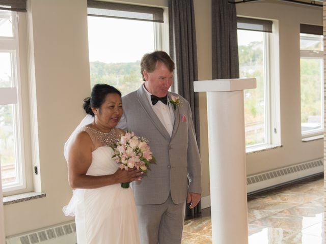 The wedding of Jom and Mike