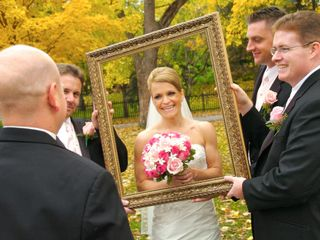 The wedding of Laura and Chad