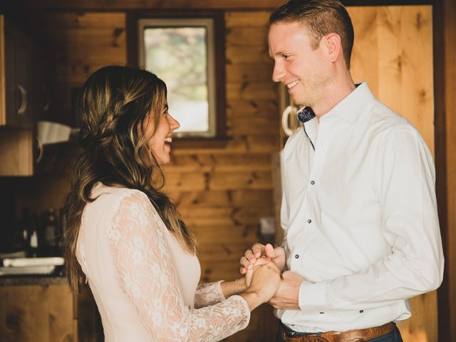 Chris and Vanessa's wedding in Ucluelet, British Columbia 8