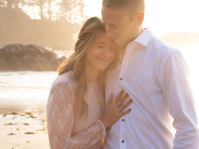 Chris and Vanessa's wedding in Ucluelet, British Columbia 13