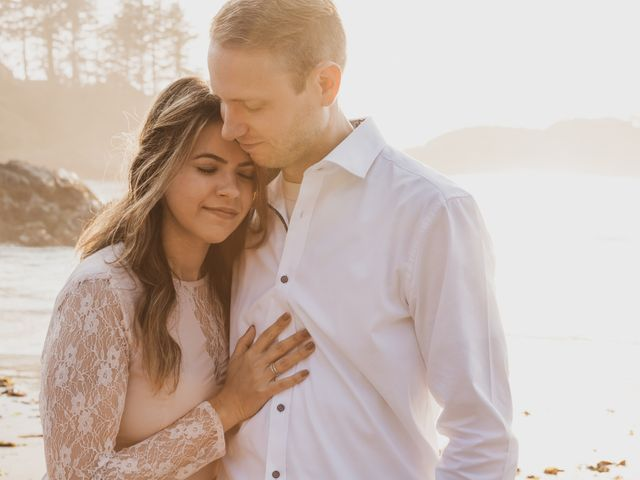 Chris and Vanessa's wedding in Ucluelet, British Columbia 14