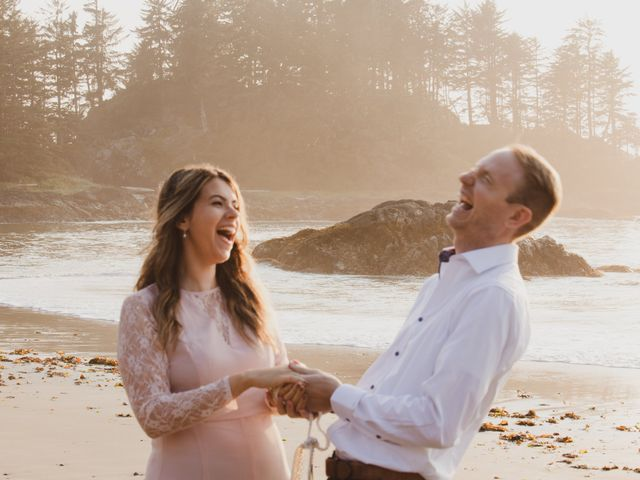Chris and Vanessa's wedding in Ucluelet, British Columbia 15