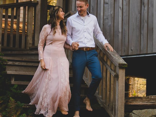 Chris and Vanessa's wedding in Ucluelet, British Columbia 21