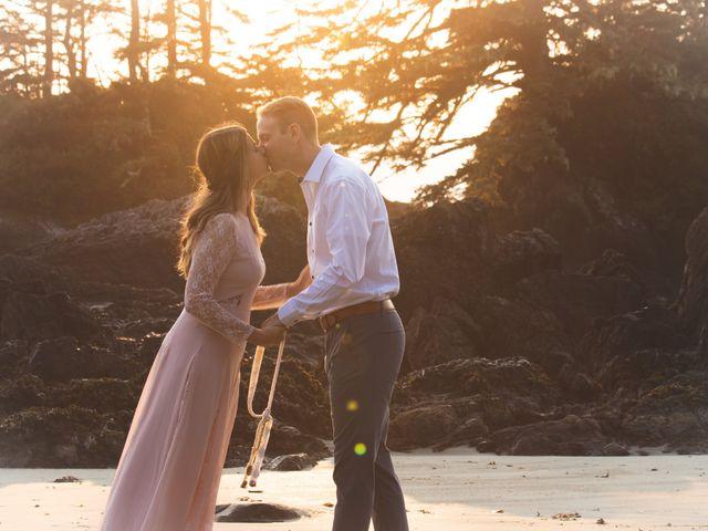Chris and Vanessa's wedding in Ucluelet, British Columbia 29