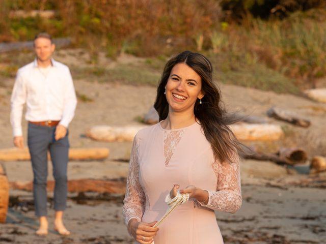 Chris and Vanessa's wedding in Ucluelet, British Columbia 31