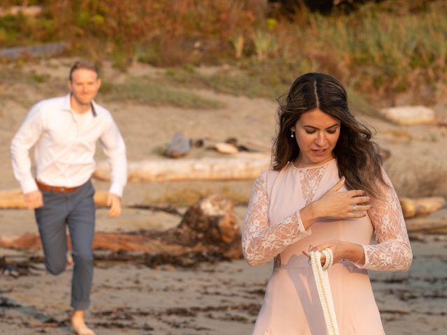 Chris and Vanessa's wedding in Ucluelet, British Columbia 32