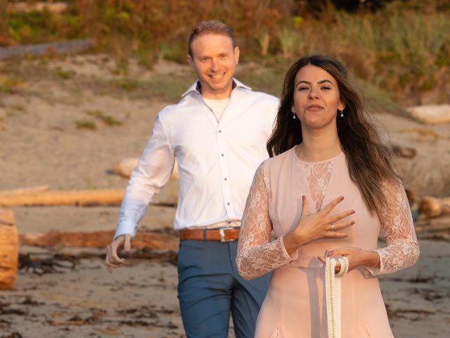 Chris and Vanessa's wedding in Ucluelet, British Columbia 34