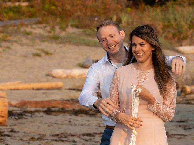 Chris and Vanessa's wedding in Ucluelet, British Columbia 35