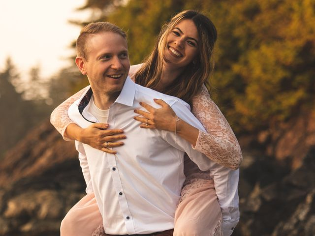 Chris and Vanessa's wedding in Ucluelet, British Columbia 40